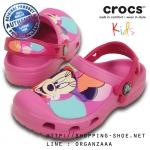 J2 (22 cm.) : Creative Crocs Minnie Colorblock Clog ของแท้ Outlet ไทยและอเมริกา