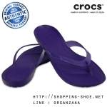W6 (24 cm.) : Crocs Really Sexi Flip - Ultraviolet ของแท้ Outlet ไทยและอเมริกา