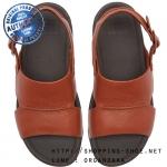 US11 : Fitflop Bando Leather Sandal Dark Tan ของแท้ นำเข้าจาก USA และ UK
