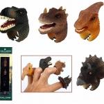 แหวนไดโนเสาร์ 1 กล่อง มี 4 ชิ้น