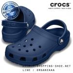 M7/W9 (26.5 cm.) : Crocs Classic Clog - Navy ของแท้ Outlet ไทยและอเมริกา