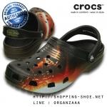 M7/W9 (26 cm.) : Crocs Classic Star Wars Kylo Ren Clog ของแท้ Outlet ไทยและอเมริกา