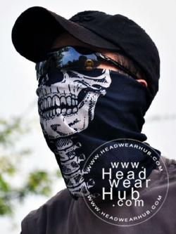 ผ้าบัฟ ผ้าโพกหัว TB291 Skull Series