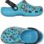 M4/W6 (23.5 cm.) : Crocs Classic Summer Fun Clog - Electric Blue ของแท้ Outlet ไทยและอเมริกา thumbnail 2
