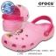 M4/W6 (23.5 cm.) : Crocs Classic Minnie Vintage Clog - Carnation / Candy Pink ของแท้ Outlet ไทยและอเมริกา thumbnail 1