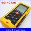 DMT031 : เครื่องมือวัดระยะ เลเซอร์วัดระยะดิจิตอล มิเตอร์วัดระยะเลเซอร์ เครื่องวัดระยะเลเซอร์ 40m/131ft Laser Distance Meter with Accuracy 1.5mm HT-40 thumbnail 1