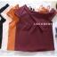 เสื้อแฟชั่นผ้าฮานาโกะ (สีส้มอิฐ) ปาดไหล่ข้างเดียว ตัดแต่งผ้าช่วงอกเก๋ๆ เพิ่มสายเดี่ยวเพื่อความมั่นใจให้ลุคสวยเปรี้ยว thumbnail 3