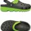 Crocs Duet Max Clog - Graphite / Volt Green ของแท้ Outlet ไทยและอเมริกา thumbnail 2