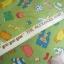 ผ้าฝ้ายอเมริกาลาย ของใช้เด็กทารก น่ารักน่าชังดีค่ะ สีเขียว ของ goo goo gear The Alexander Henry Fabrics thumbnail 2