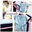 เสื้อแฟชั่น ผ้าฮานาโกะ สีชมพู แต่งระบายอกสวยหวาน สินค้าคุณภาพ ราคาไม่แพง thumbnail 4