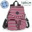 Kipling Firefly Up Backpack - Sugar Stripes (Belgium) thumbnail 1