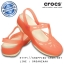 Crocs Carlie Cut Out Clog - Coral / Oyster ของแท้ Outlet ไทยและอเมริกา thumbnail 1