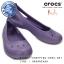 J4 (23 cm.) : Crocs Kadee Flat Girl - Blue Violet ของแท้ Outlet ไทยและอเมริกา thumbnail 1