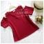เสื้อแฟชั่นผ้าฮานาโกะ สีชมพู รุ่นเว้าไหล่ แบบสวยชิคๆ เสื้อสีพื้น ใส่ง่าย ใส่สบาย เนื้อผ้าฮานาโกะคุณภาพดี thumbnail 3