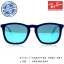 RayBan - RB4187 608155 Chris Velvet Blue, 54 mm. thumbnail 1