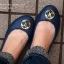 W6 (23 cm.) : Crocs Gianna Disc Flat - Espresso / Gold ของแท้ Outlet ไทยและอเมริกา thumbnail 3