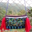 กระเป๋าปักมือ สีน้ำเงิน thumbnail 1