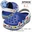 J3 (23 cm.) : CrocsLights Holiday Clog - Blue Jean ของแท้ Outlet ไทยและอเมริกา thumbnail 1
