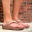 W7 (24.5 cm.) : Crocs Sloane Platform Flip - Bronze ของแท้ Outlet ไทยและอเมริกา thumbnail 3