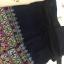 กางเกงปักมือ ลายปักประยุกต์ โทนเขียว,ขาว thumbnail 3