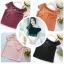 เสื้อแฟชั่นผ้าฮานาโกะ (สีส้มอิฐ) ปาดไหล่ข้างเดียว ตัดแต่งผ้าช่วงอกเก๋ๆ เพิ่มสายเดี่ยวเพื่อความมั่นใจให้ลุคสวยเปรี้ยว thumbnail 10