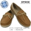 W6 (23 cm.) : Crocs Women's Wrap ColorLite Perforated Loafer - Hazelnut / Tumbleweed ของแท้ Outlet ไทยและอเมริกา thumbnail 1