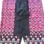 กางเกงผ้าปักมือ โทนสีชมพูเก่า ผืนยาว thumbnail 3
