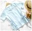 เสื้อแฟชั่นผ้าฮานาโกะ สีขาว แบบผูกโบว์เอวสองข้าง แบบสวยน่ารักมากค่ะ เสื้อสีพื้น ใส่ง่าย ใส่สบาย เนื้อผ้าฮานาโกะคุณภาพดี thumbnail 4