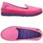 W7 (23.5 cm.) : Crocs Women's Stretch Sole Microsuede Skimmer - Candy Pink / Ultraviolet ของแท้ Outlet ไทยและอเมริกา thumbnail 2