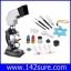 SCI035 กล้องจุลทรรศน์ กล้องไมโครสโคป พร้อมอุปกรณ์ Microscope set Projection 100X 300X 600X 900X thumbnail 1