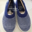 US5 : Fitflop Uberknit Slip On Ballet Flat Mazarine Blue / White ของแท้ นำเข้าจาก USA และ UK thumbnail 3