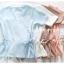 เสื้อแฟชั่นผ้าฮานาโกะ สีขาว แบบผูกโบว์เอวสองข้าง แบบสวยน่ารักมากค่ะ เสื้อสีพื้น ใส่ง่าย ใส่สบาย เนื้อผ้าฮานาโกะคุณภาพดี thumbnail 7