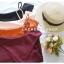 เสื้อแฟชั่นผ้าฮานาโกะ (สีส้มอิฐ) ปาดไหล่ข้างเดียว ตัดแต่งผ้าช่วงอกเก๋ๆ เพิ่มสายเดี่ยวเพื่อความมั่นใจให้ลุคสวยเปรี้ยว thumbnail 9