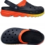 M7/W9 (26 cm.) : Crocs Duet Max Ombre Clog - Navy / Orange ของแท้ Outlet ไทยและอเมริกา thumbnail 2