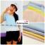 เสื้อแฟชั่น เสื้อทำงาน ผ้าฮานาโกะ สีเหลือง พาสเทล สดใส แต่งเอวผ้าซีฟองพริ้วๆ น่ารักมากๆ สินค้าคุณภาพ ราคาไม่แพง thumbnail 6