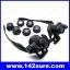 GLS001: แว่นตาขยาย แว่นตาซ่อมงาน แว่นตาซ่อมนาฬิกา 9892GJ 10X 15X 20X 25X LED Magnifier Double Eye Glasses Loupe Lens 2 LED Lights thumbnail 2
