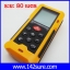 DMT030 : เครื่องมือวัดระยะ เลเซอร์วัดระยะดิจิตอล มิเตอร์วัดระยะเลเซอร์ เครื่องวัดระยะเลเซอร์ 80m/262ft Laser Distance Meter with Accuracy 1.5mm HT-80 thumbnail 1