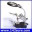 DLT011 กล้องส่องขยาย กล้องขยายชิ้นงาน 3.5x&12X 3rd Helping Hand Clip LED Magnifying Soldering IRON STAND Len Magnifier ยี่ห้อ OEM รุ่น thumbnail 1