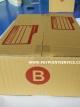 กล่องไปรษณีย์ฝาชน เบอร์B (ข) ขนาด 17x25x9 เซนติเมตร