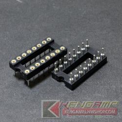 Socket DIP16 ขากลม(10pcs)
