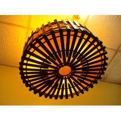 โคมไฟไม้ไผ่แขวนเพดาน Bamboo Ceiling Lamp (BCL003)