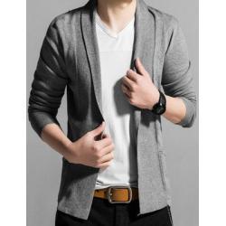 เล็กหลากสี!!เสื้อคลุมติดกระดุม สไตล์ UK Monsoon คาดิแกนไหมพรม shawl ลายเส้น size 34 36 38 40 42 สีดำ เทาเข้ม เทาอ่อน น้ำเงิน