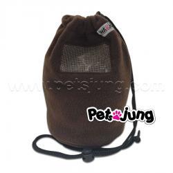 PJ-BON002-BR PetsJunG - Bonding Pouches ถุงหูรูด สีน้ำตาล