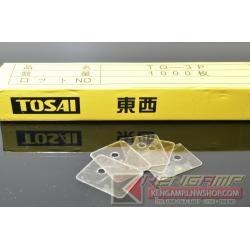 (100pcs) แผ่นไมก้า TOZAI TO-3P