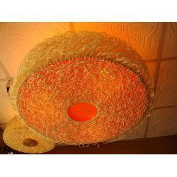 โคมไฟหวายแบบแขวนเพดาน Rattan Ceiling Lamp (RCL004)