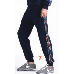 กางเกงผ้าฝ้ายขาจั๊ม เอวจั๊มรูด ออกกำลังกาย ฟิตเนส แต่งข้างแฟชั่น คุณภาพสูง แบบ1 2 3 4 5 6 7