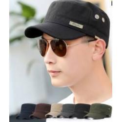 ใหม่!! หมวกทหาร หมวกแก๊ป สไตล์เกาหลี ผ้าฝ้าย รูระบายอากาศ(ดำ น้ำเงิน เทา น้ำตาล เขียว) สำเนา