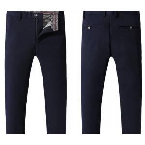 3สี กางเกงแฟชั่นบูติก เดฟสลิมฟิต กระดุมใส ใส่สบาย สีดำ น้ำเงิน แดง เอว No.28-34