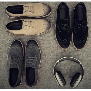 3สี!!รองเท้าหุ้มส้นพิเศษ หนังแท้ ปรุออกฟอร์ด แฟชั่น C19 ดำ เทา เบจ เบอร์ 38-44