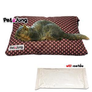 PetsJunG - Cooling pad set ที่นอนเก็บความเย็น (Size M.)